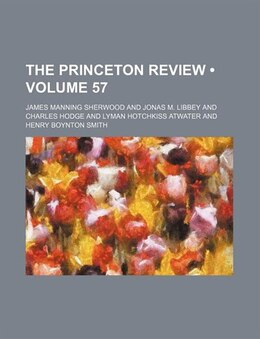 Book The Princeton Review by James Manning Sherwood