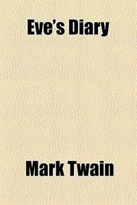 Book Eve's Diary by Mark Twain