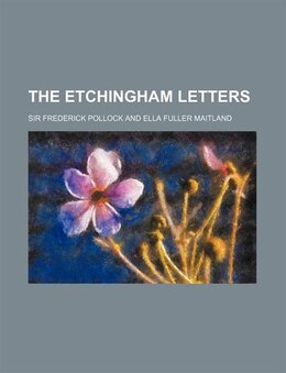 Book The Etchingham Letters by Sir Frederick Pollock