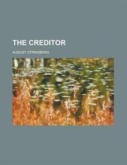 Book The creditor by August Strindberg