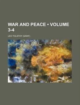 Book War And Peace (volume 3-4) by Leo Tolstoy