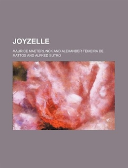 Book Joyzelle by Maurice Maeterlinck