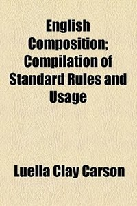 Book English composition by Luella Clay Carson