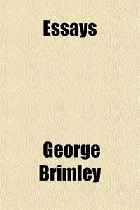 Book Essays by George Brimley
