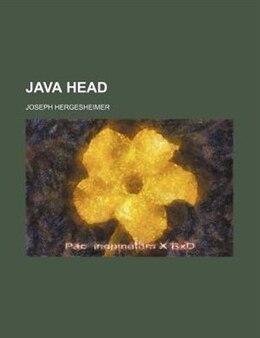 Book Java Head by Joseph Hergesheimer