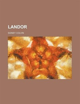 Book Landor by Sidney Colvin