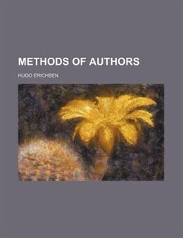 Book Methods of Authors by Hugo Erichsen
