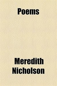 Book Poems by Meredith Nicholson