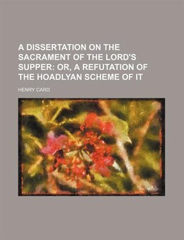 Book An essay on the holy eucharist, or by Henry Card
