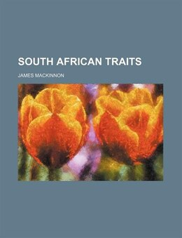 Book South African Traits by James Mackinnon