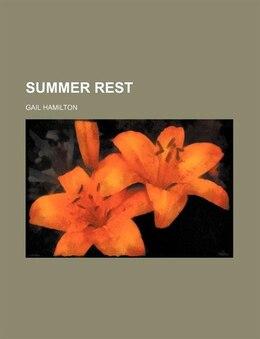 Book Summer Rest by Gail Hamilton