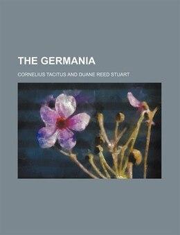 Book The Germania by Cornelius Tacitus