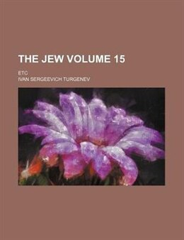 Book The Jew by Ivan Sergeevich Turgenev