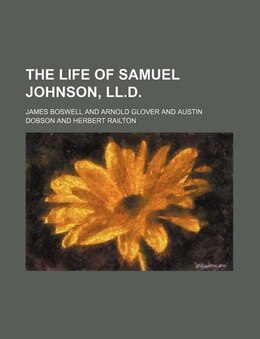 Book The Life Of Samuel Johnson, Ll.d. (volume 2) by James Boswell