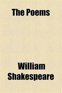 Book The Poems by William Shakespeare