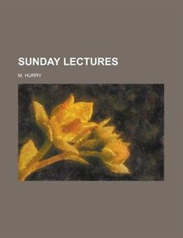 Book Sunday Lectures by Ezra Abbot