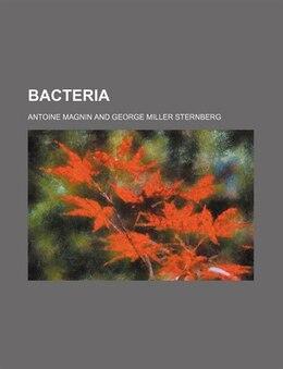 Book Bacteria by Antoine Magnin