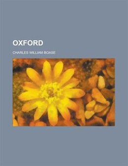 Book Oxford by Charles William Boase