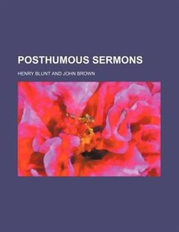 Book Posthumous Sermons by Henry Blunt