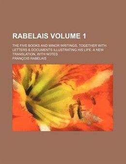 Book Rabelais by François Rabelais