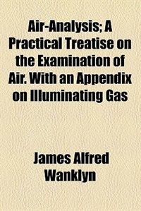 Book Air-analysis by James Alfred Wanklyn