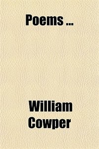 Book Poems ... by William Cowper