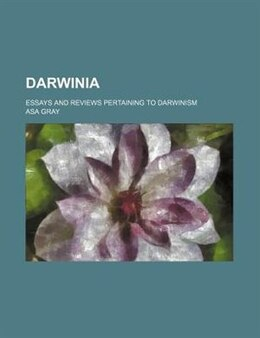 Book Darwinia by Asa Gray