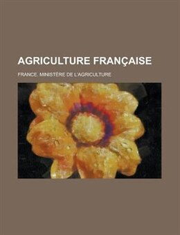 Book Agriculture Francaise by Charles Wesley Emerson