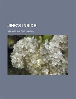 Book Jink's inside by Harriet Malone Hobson
