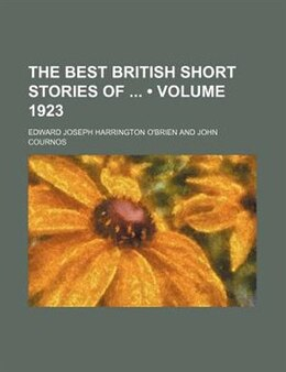Book The Best British Short Stories of 1922 by J. Edward O'Brien