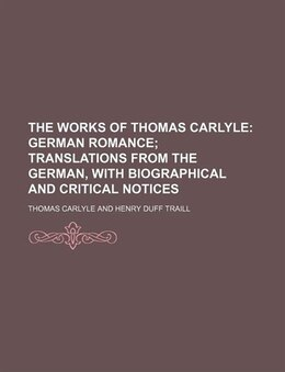 Book The Works of Thomas Carlyle by Thomas Carlyle
