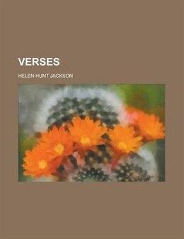 Book Verses by Helen Hunt Jackson