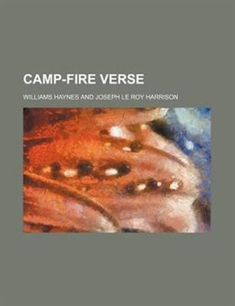 Book Camp-fire Verse by Williams Haynes