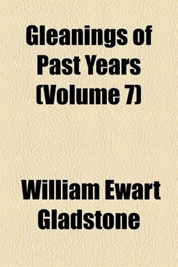Book Miscellaneous Volume 7 by William Ewart Gladstone