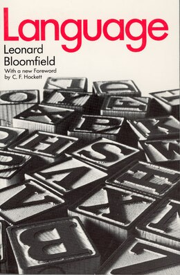 Book Language by Leonard Bloomfield