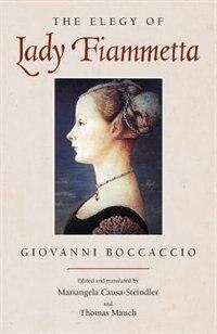 Book The Elegy of Lady Fiammetta by Giovanni Boccaccio