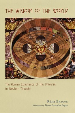 Book The Wisdom Of The World: The Human Experience Of The Universe In Western Thought by Rémi Brague