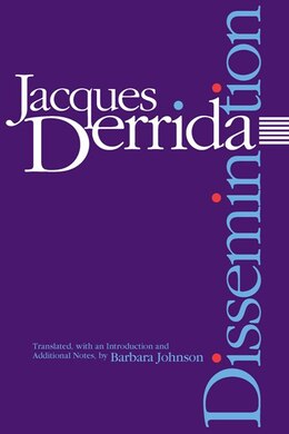 Book Dissemination by Jacques Derrida