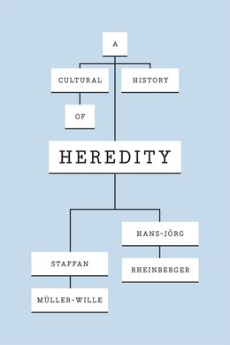 Book A Cultural History Of Heredity by Staffan Müller-wille