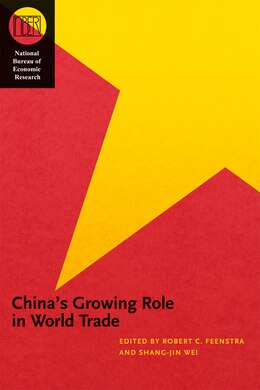 Book China's Growing Role In World Trade by Robert C. Feenstra