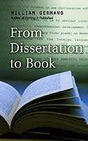 Book From Dissertation to Book by William Germano