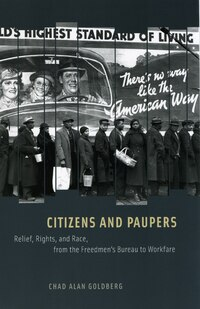 Citizens and Paupers: Relief, Rights, And Race, From The Freedmen's Bureau To Workfare