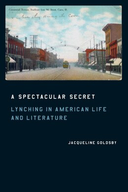 Book A Spectacular Secret: Lynching in American Life and Literature by Jacqueline Goldsby