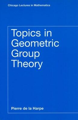 Book Topics in Geometric Group Theory by Pierre de la Harpe
