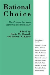 Book Rational Choice by Hogarth, Robin M.