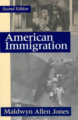 Book American Immigration by Maldwyn Allen Jones