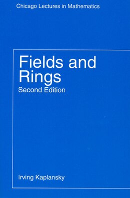 Book Fields and Rings by Irving Kaplansky