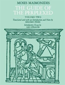 Book The Guide of the Perplexed, Volume 2 by Moses Maimonides