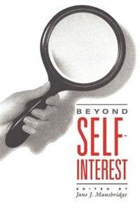 Book Beyond Self-Interest by Jane J. Mansbridge