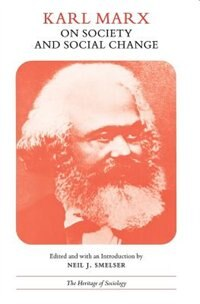 Book Karl Marx On Society And Social Change: With Selections by Friedrich Engels by Karl Marx
